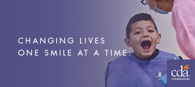 CDA Foundation: changing lives one smile at a time